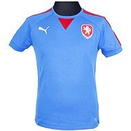 Puma Czech Republic Casuals T-Shirt royal L - Tričko