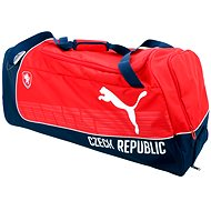 Puma Czech Republic Large Wheel Bag red/white - Kufor