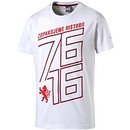 Puma Czech republic 76 Fan Shirt white chili S - Tričko
