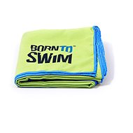 Born To Swim Microfibre green