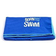 Born To Swim microfibre blue