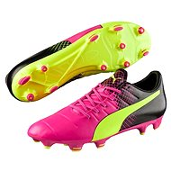 Puma Evo Power 3.3 FG-glo pink safet vel. 9 - Football Boots