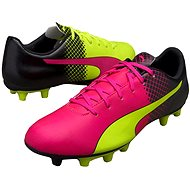Puma Evo Speed 5.5 Tricks FG pink glo-safet velikost 10 - Kopačky