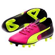 Puma Evo Power 5.5 FG Jr pink glo-sa vel. 5