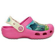Crocs CC FrozenFever Clog K-Party-Rosa / Oyster EU 32-33