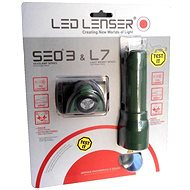 Led Lenser SEO 3 + L7 dark green