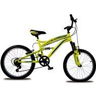 """Bolt 20"""" fosforově žlutá - Dětské kolo"""