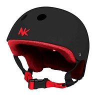 Nokaic helmet gray-red M