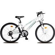 Olpran MTB Falcon Sus dívčí bílo/zelené - Dětské kolo