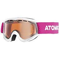 Atomic SAVOR JR White / Orange - Dětské lyžařské brýle