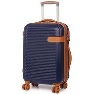 Rock Valiant TR-0159/3-S ABS - modrá - Cestovní kufr s TSA zámkem