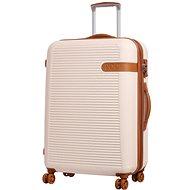 Rock Valiant TR-0159/3-L ABS - krémová - Cestovní kufr s TSA zámkem