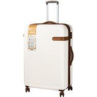 Rock Valiant TR-0159/3-XL ABS - krémová - Cestovní kufr
