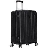 Azure Sirocco T-1141/3-L ABS - černá - Cestovní kufr s TSA zámkem