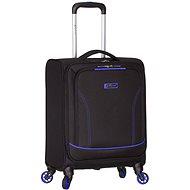 Azure-Geist-T-1115/3-S - schwarz / blau - Reisekoffer