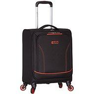 Azure-Geist-T-1115/3-S - schwarz / orange - Reisekoffer