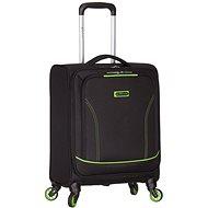 Azure-Geist-T-1115/3-S - schwarz / grün - Reisekoffer