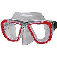 Calter Potápěčská maska Senior 238P, červená - Potápěčské brýle
