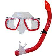 Calter Potápěčský set Junior S9301+M229 P+S, červený - Sport-Set
