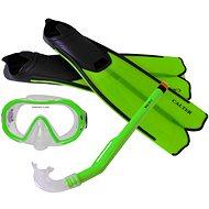 Calter Potápěčský set Kids S06+M168+F41 PVC, zelený - Sportovní set