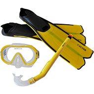Calter Potápěčský set Kids S06+M168+F41 PVC, žlutý - Sportovní set