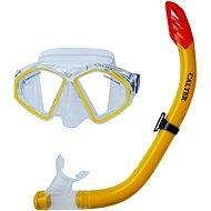 Calter Potápěčský set Senior S09+M283 P+S, žlutý - Sportovní set