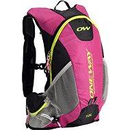 One Way Run Hydro Back 12L Pink-Black - Sports backpack