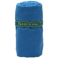 Sherpa Dry Towel blue L - Handtuch