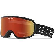 GIRO Moxie Black Amber Scarlet/Yellow vel. S/M - Dámské lyžařské brýle