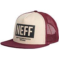 Neff Corpo Trucker, Twill maroon