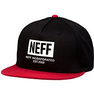 Neff New World Cap, Black Red