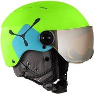 Cébé Fireball JR Lime / Blue size 49-54 - Helmet