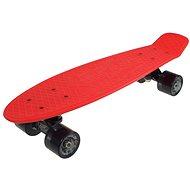 """Retro Sulov Venedig rot-schwarz vel. 22 """" - Kunststoff-Skateboard"""