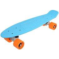 "Sulov Via Dolce Blau-Orange vel. 22 "" - Kunststoff-Skateboard"