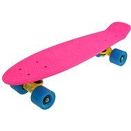 "Sulov Neon Speedway rosa-blau vel. 22 "" - Kunststoff-Skateboard"