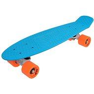 "Sulov Neon Speedway Blau-Orange vel. 22 "" - Kunststoff-Skateboard"