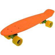 """Sulov Neon Speedway orange-gelbe vel. 22 """" - Kunststoff-Skateboard"""