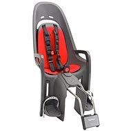 Hamax Caress Zenith antracit/červená - Dětská sedačka na kolo