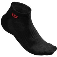Wilson M Black Quarter Sock 3PR/PK