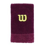 Wilson Extra Wide W Wristband Purple / Boyse OSFA - Wristband
