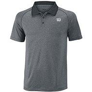Wilson M Core-Polo Dk Gray / BK M - T-Shirt