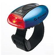 Sigma Micro modrá / zadní světlo LED-červená - Světlo na kolo