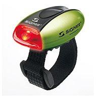 Sigma Micro zelená / zadní světlo LED-červená - Světlo na kolo