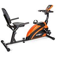 Klarfit Relaxbike 5G Orange - Fahrrad-Heimtrainer