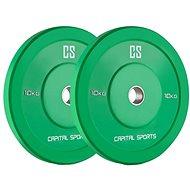 Capital Sports Nipton Bumper Plates 10 - Disc