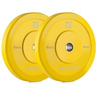 Capital Sports Nipton Bumper Plates 15 - Disc