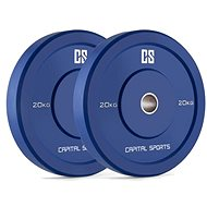 Capital Sports Nipton Bumper Plates 20
