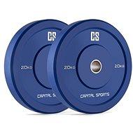 Capital Sports Nipton Bumper Plates 20 - Disc