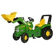 X-Trac John Deere s nakladačem - Šlapací traktor