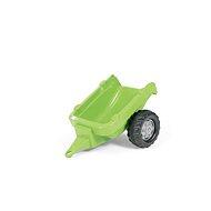 Vlečka za traktor 1osá - světlezelená - Šlapací traktor